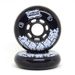 FR Street Invaders Black Wheel 76mm x1