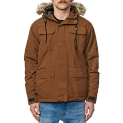 GLOBE Goodstock Thermal Parka Jacket Hazel
