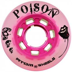 ATOM Wheels POISON X-Slim Pink 62mm x4