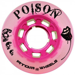 Roues ATOM Wheels POISON X-Slim Pink 62mm x4