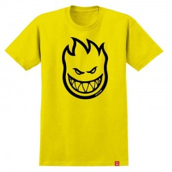 SPITFIRE Tshirt SS Bighead Yellow/Black