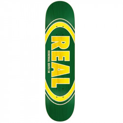 Deck REAL Ovalduo fade green 7.75""