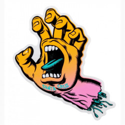"Autocollant SANTA CRUZ Fade Hand 6"""