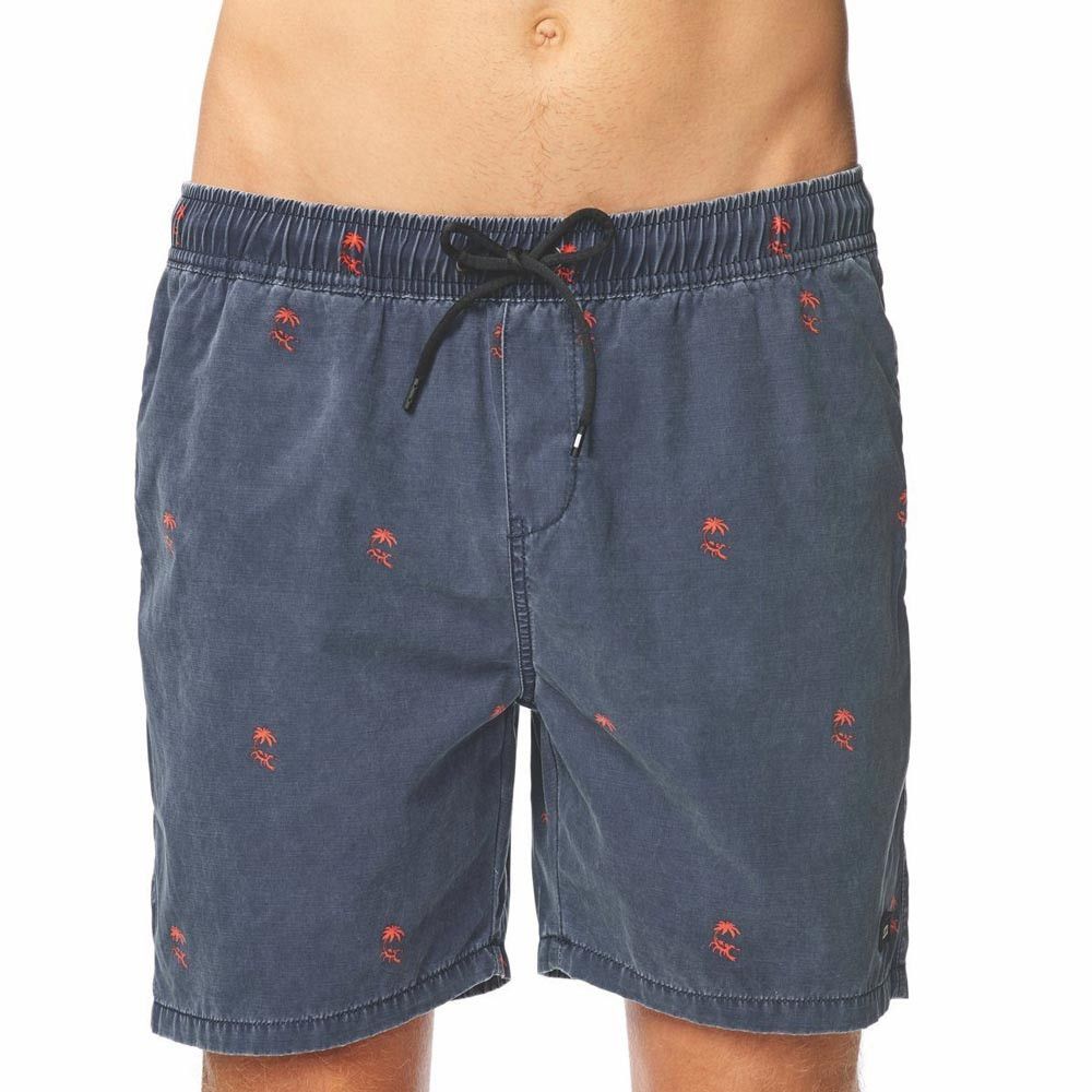 GLOBE Sand Tracks Poolshort Washed Navy