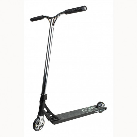 Addict Equalizer Black/Chrome Scooter Compléte