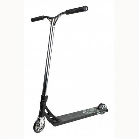 Addict Equalizer Black/Chrome Scooter Complete