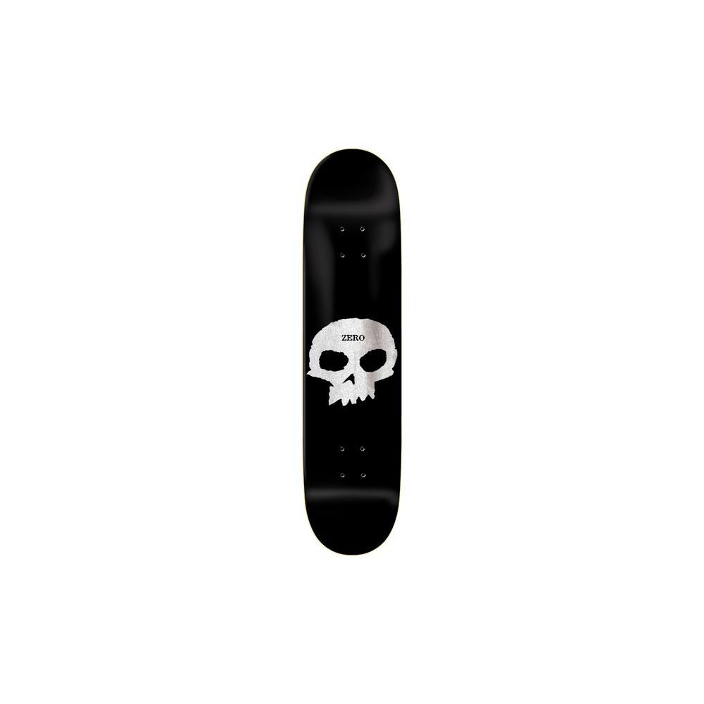 "ZERO Single Skull Pearl Black 8"" deck"