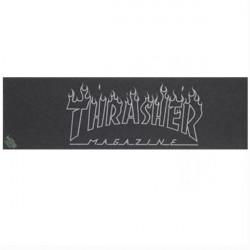 THRASHER X MOB Black Logo Griptape