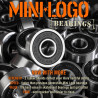 MINI LOGO bearings x8