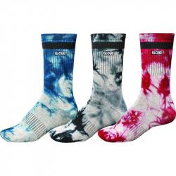 Chaussettes GLOBE All Tied Socks x3