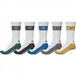 Chaussettes GLOBE Team Crew socks x5
