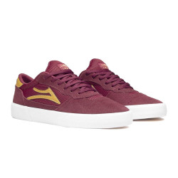 LAKAI Cambridge Burgundy Suede