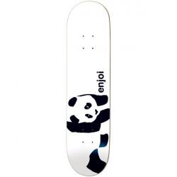 """ENJOI Panda logo White R7 8"""""""