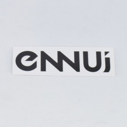 ENNUI Logo sticker