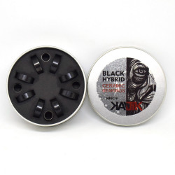 KALTIK ABEC9 Black Ceramic x8 bearings
