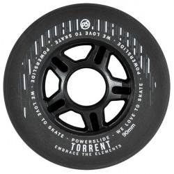 Roues POWERSLIDE Torrent Rain Black 90mm x4