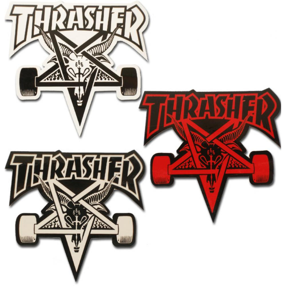 THRASHER Stickers Skategoat x1