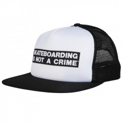 Santa Cruz Trucker Not A Crime caps
