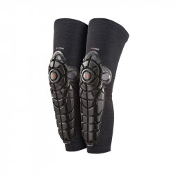 G-FORM Pro-X Knee-Shin Guards Black Topo