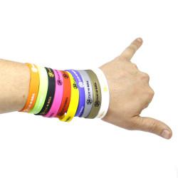 CLIC-N-ROLL Silicone Bracelet