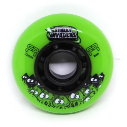FR Skates Street Invaders Green Wheel 72mm x1