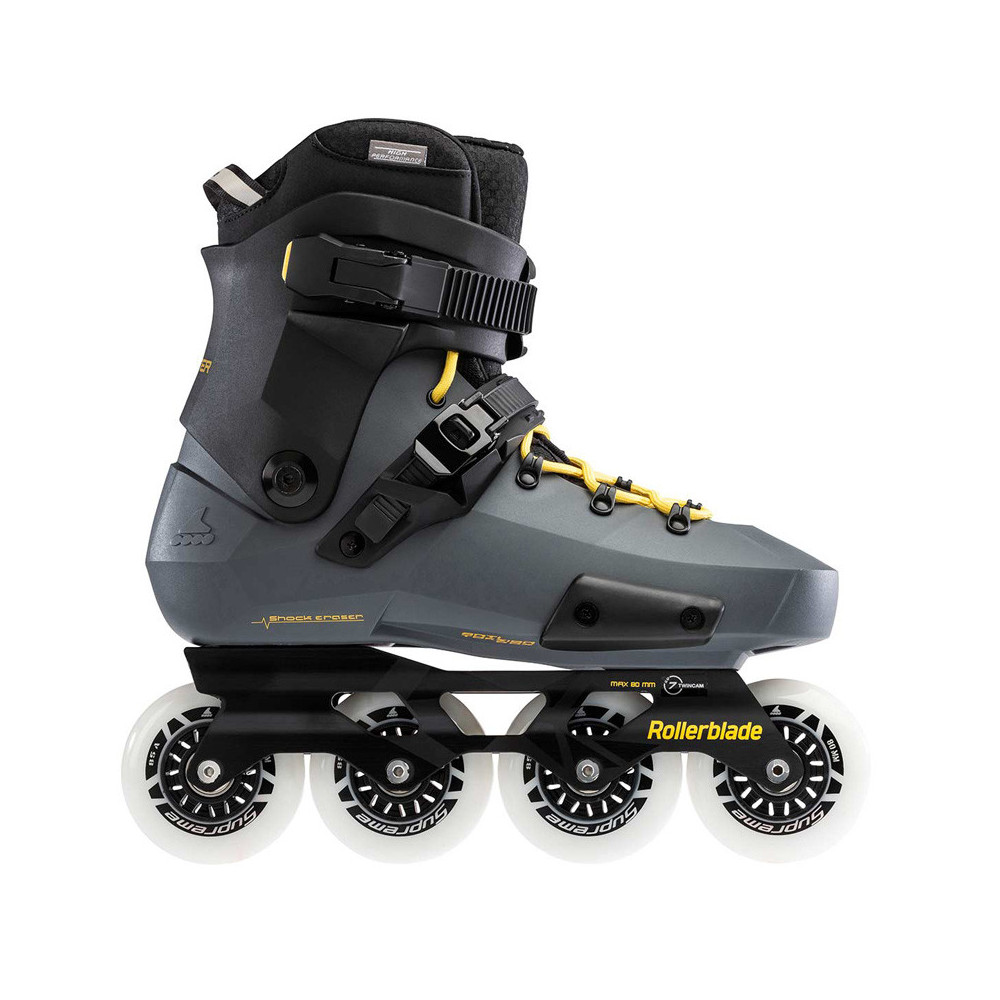 ROLLERBLADE Twister Edge Anthracite/Yellow