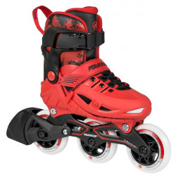 POWERSLIDE Phuzion Univers Red 3 Wheels