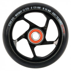 ETHIC Mogway 125mm 12Std Wheel Black x1