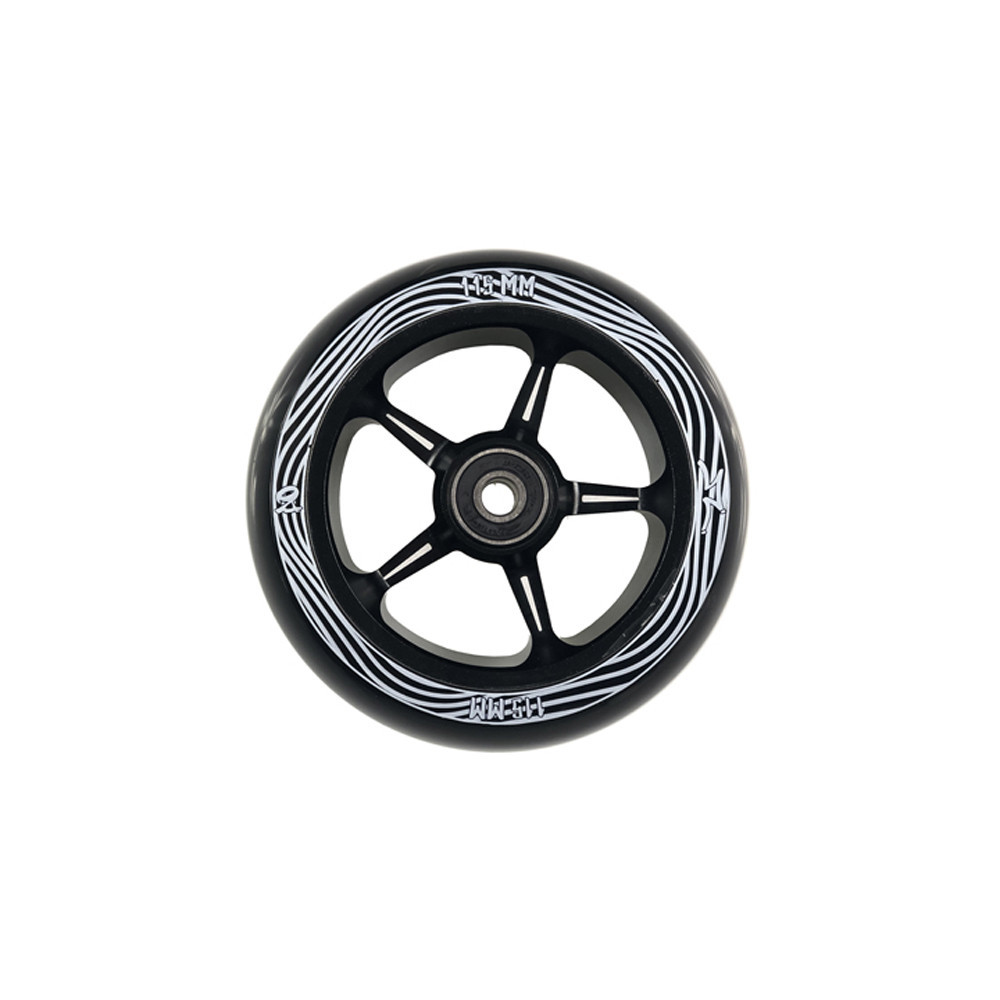 AO Scooter Pentacle Wheel Black Black x1