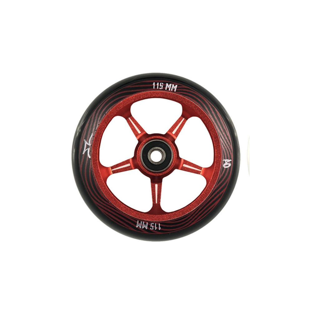 AO Scooter Pentacle Wheel Red Red x1