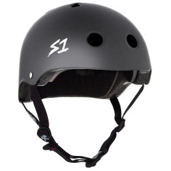 S1 Lifer V2 Dark Grey Matte Helmet
