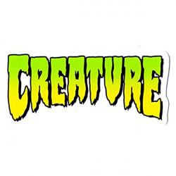 CREATURE Skateboard sticker x1