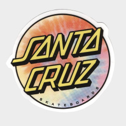 SANTA CRUZ Tie Dye Sticker x1