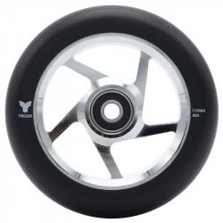 TRIGGER 5 Spoke Wheels + ABEC9 Silver x2