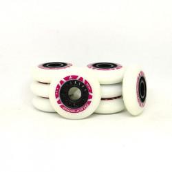 ROLLERBLADE 80mm Supreme Pink Wheels x8