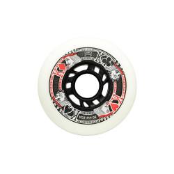 Roues FR SKATES Street King 80mm White x4