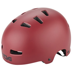 TSG Evolution Solid Satin Oxblood Helmet