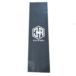 CLIC-N-ROLL Logo Griptape Skateboard