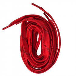 Ground Control Hockey Laces Red