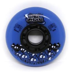 FR Skates Street Invaders Blue Wheels 80mm x4