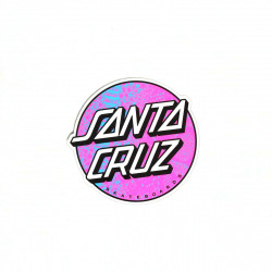 SANTA CRUZ Scales Dot Sticker x1