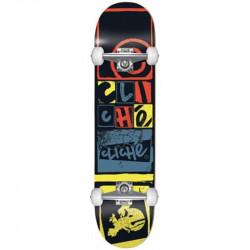 CLICHÉ Skateboard Letter Press Black 8.0''