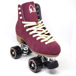 CHUFFED SKATES Burgundy Wanderer Rollerskates
