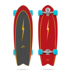 """Surfskate YOW Pipe 32"""" Power Surfing Series"""