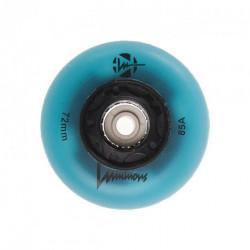 Roues Luminous 72mm Blue Glow x4