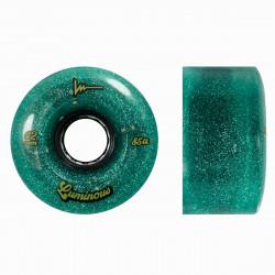Roues LUMINOUS Quad Jade Glitter x4