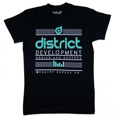 DISTRICT Supply Black Tee