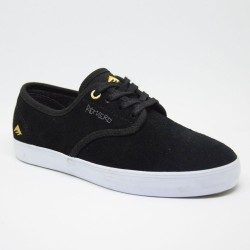 EMERICA Laced Leo Romero Youth Black/White/Gold