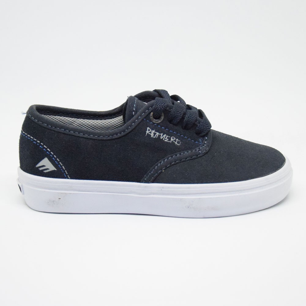 EMERICA Laced Leo Romero Youth Marine Blue
