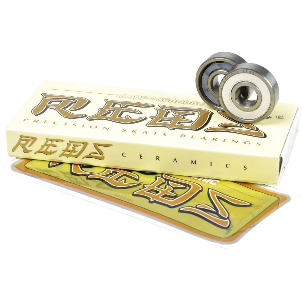 BONES Reds Ceramic Bearings x8